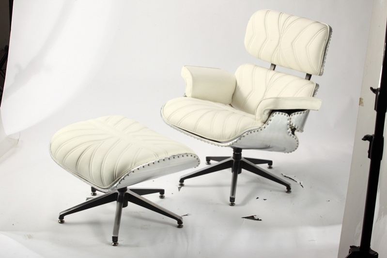 Vintage WW2 Modern Lounge Chair - Fashion Lounge White