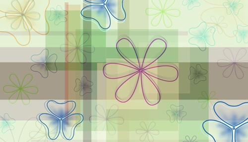 Line Flower