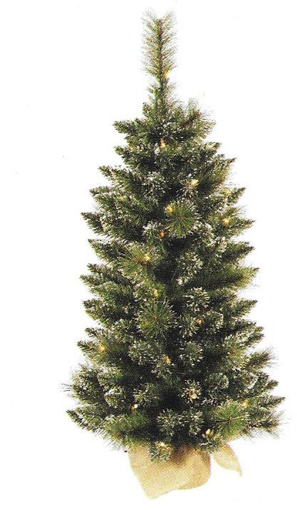 Snow Tipped Berry Pine - 3 ft x 17 inch