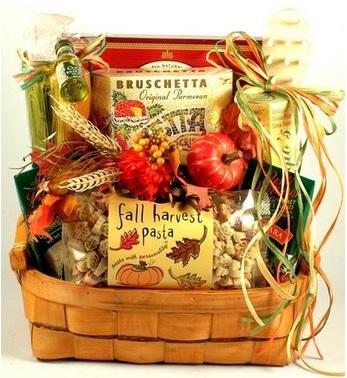 Italian Fall Gift Basket