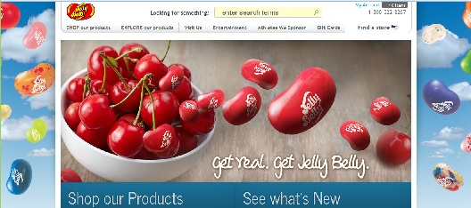 Jellybelly shopping screenshot