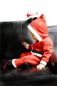 Tiny Santa
