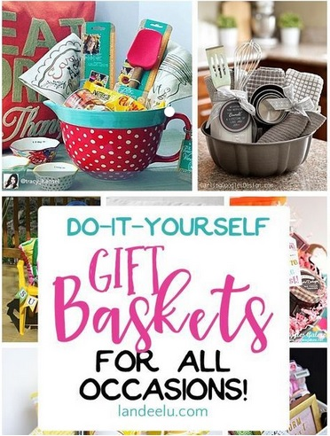 DIY Gift Baskets that wont cost too much $$$ to make.