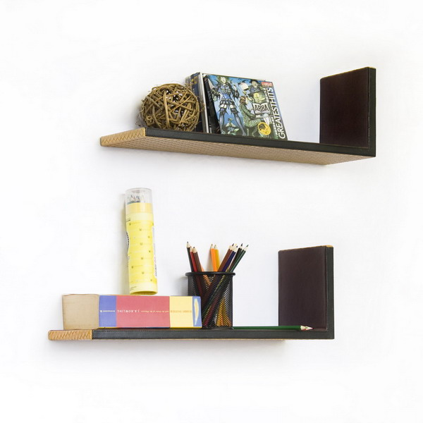 Double L Shape Shelves
