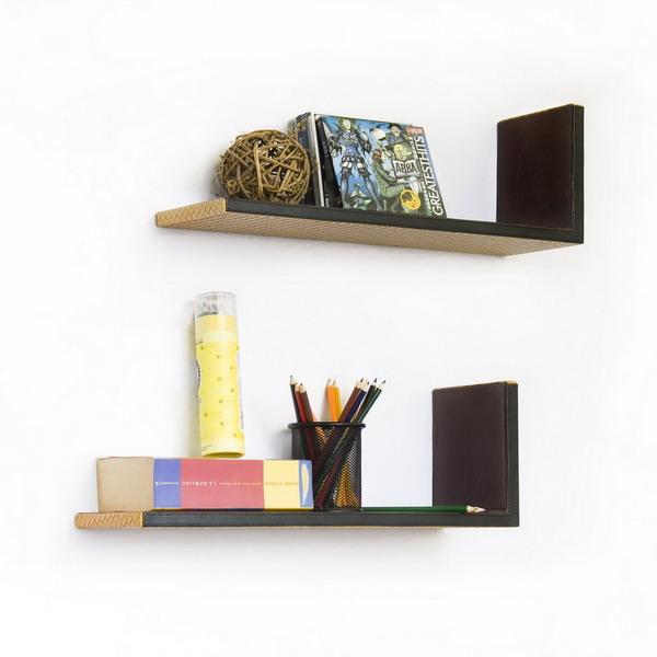 Double L Shape Shelves