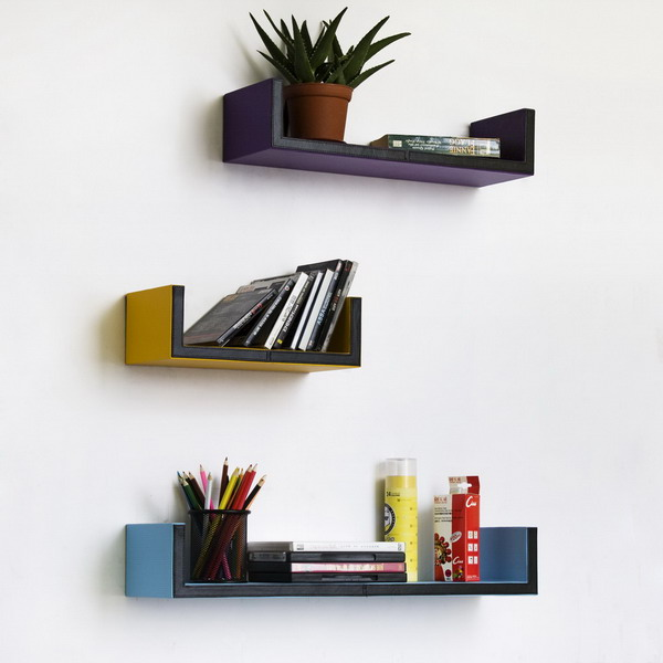 3Sized U shelves